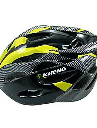 Kheng 21 aberturas de PC + eps azul mtb integralmente moldado capacete ciclismo (54-62 centímetros)