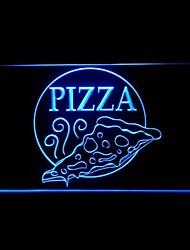 Пицца Открыть Реклама светодиодные Вход