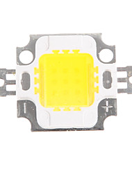 10W 800-900LM del poder más elevado integrado 4500K Blanco natural viruta del LED (9-12V)