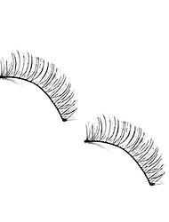 10 Pairs Long Hand Made False Eyelashes
