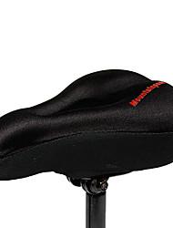 MTP antiderrapante Lycra e Silicone Preto bicicleta sela capa