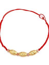 Освящение красный цепь Будды бисера браслет (1шт)