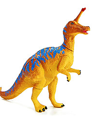 Assembly Tsintaosaurus Dinosaur Model Rubber Educational Action Figures Toy(Blue)