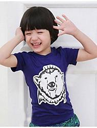 Modieuze Cool Polar Bear korte mouwen T-shirt jongen