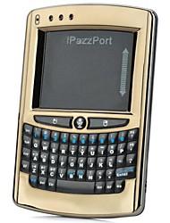 iPazzPort KP-810-05V Mini Wireless 2.4GHz 57-Key Voice Keyboard - Black
