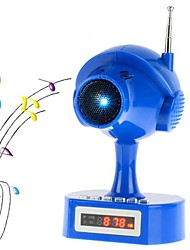 Peashooter Mini haut-parleur avec Radio FM, carte de TF, USB, disque d'U (couleurs assorties)