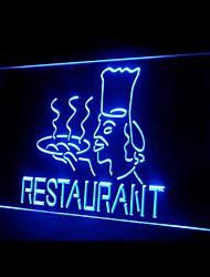 Restaurante Master Chief Publicidade LED Sign