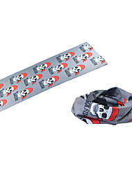BOODUN Skull Design Multi-Functional Seamless Polyester Spandex Magic Scarf Headband