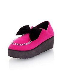 женские платформы круглым носком ботинок квартир (больше цветов)