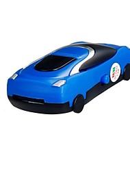tf-Kartenleser Mini-Sportwagen-Design-MP3-Player (blau)