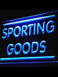 articles de sport publicitaire conduit de lumière de signe