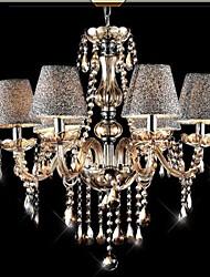 Ecolight ™ 40w cristal / contemporain / classique / millésime electroplated lustres en verre modernes