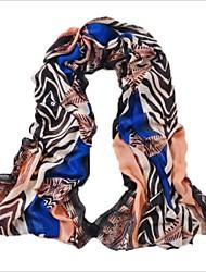 vrouwen 's warm (zebra) sjaal (shawl)