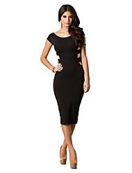 Tuteng nuevo € 2.014 soportar serie para mujer diseños cruzados espalda sexy vestido largo corte ajustado