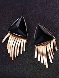 Modische Dreiecks Quasten Earing für Frauen
