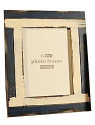 madeira velha quadro retro (8inches)