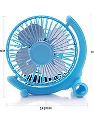USB Globe 4-Zoll-Aluminium-Blatt Fan - Blau