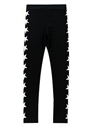 Men's Hip Hop Print Casual Cropped Trousers