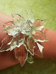12 Glass Napkin Ring