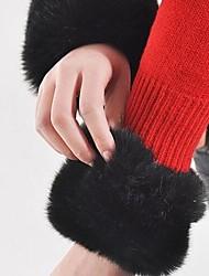 Fur Big Fluffy Hair Wristband Cuff