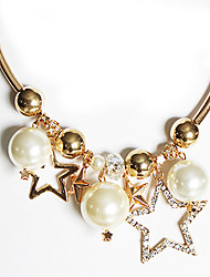 Meet You Pearl Necklace Inlaid With Austrian Rhinestone