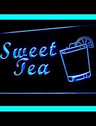 Sweet Lemon Tea Advertising LED Light Sign