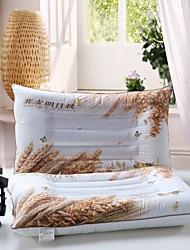 Consolador shuian® preencher trigo mourisco não deformação travesseiro único de saúde