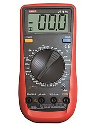 UNI-T®UT151A Handheld/Palm-Size LCD Precision Digital Multimeters AC DC Volt Amp Ohm Hz Capacitance Tester