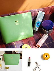 Cute Bowknot Design PU Leather Change Purses (Random Color x1pcs)