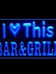любовь гриль-бар реклама привело свет знак