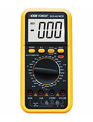 VICTOR VC9802A+ DMM Digital Multimeter Resistance Cap DCV/A ACV/A Meter