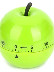 Apple Style Plastic Mechanism Timer Alarm