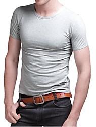 Men's Fashion Round Collar Short Sleeve T-Shirts