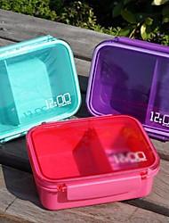 Single Tier Small Sealed Boxes Sushi Box (Random Color)