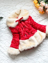 Girl Fashion Winter Wool Coat Fur Thick Out Wear