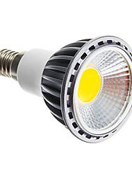 5W E14 / E26/E27 Lâmpadas de Foco de LED COB 50-400 lm Branco Quente / Branco Frio Regulável AC 220-240 V