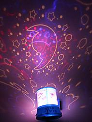 DIY romantica luna Galaxy Starry Sky proiettore di luce di notte per Celebrate Christmas Festival