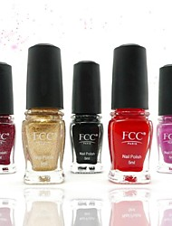 FCC® 5PCS Nail Polish Set With Natural & Eco-Friendly Composition  Designer Series