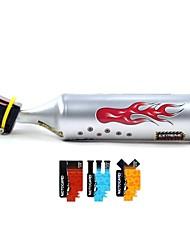 Turbospoke bicicleta tubo de escape com turbina da motocicleta Som