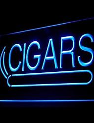 pubblicità sigari sigaretta ha condotto il segno della luce