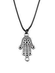 Мода из нержавеющей стали ладони кулон ожерелье