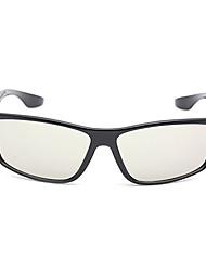 m&k luz polarizada retardador modelado gafas 3d para 3d TV