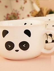 panda creativo taza de café de cerámica patrón aleatorio, 8.5x7x11cm