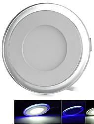 ZHISHUNJIA Luminária de Painel Regulável/Decorativa 17 W 1100lm LM 6500k K Muda de Cor 34 SMD 5630 AC 85-265 V