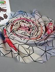belle peinture de style carrés de laine mariage / occasion spéciale châle des femmes (une seule couleur)
