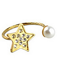 shixin® perles de Fashion Star diamanted bande anneaux (1 pc)