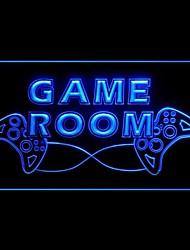 Sala giochi Biliardo Pubblicità Light LED Sign