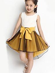 bb&b été nouvelle queue d'hirondelle moyen jolie robe de fille 2014