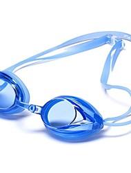 Mezcla de colores de silicona adulto normal antidesgaste Carreras Gafas de natación G1000