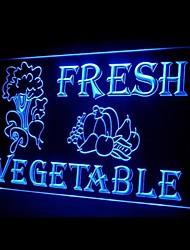 Salada de legumes frescos Publicidade LED Sign